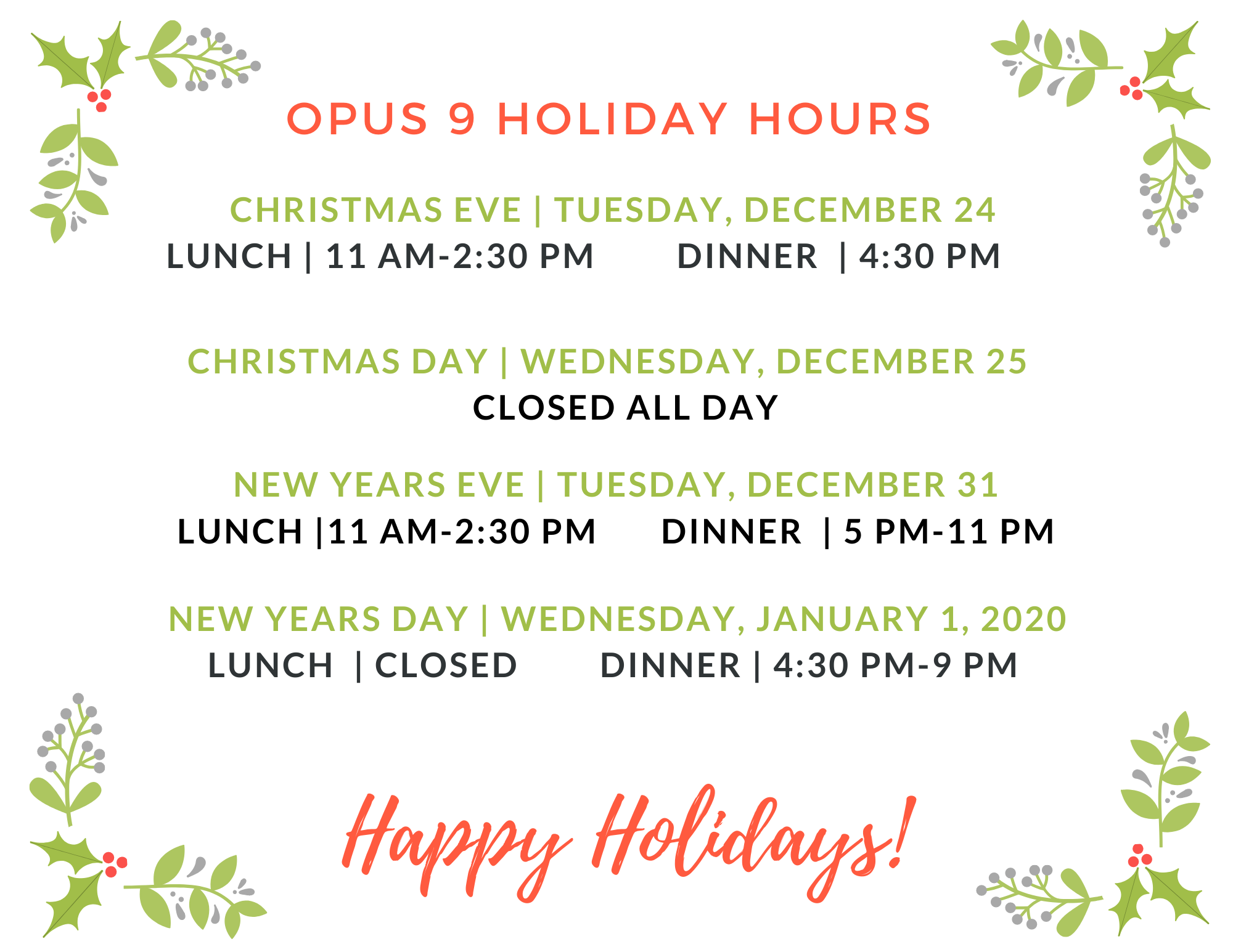 Opus-Holiday-Hours-